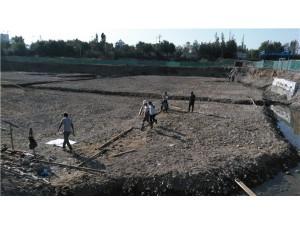 河畔.丽景二期A区勘探、验槽及施工现场